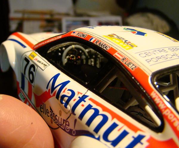 Porsche 911 GT3 RSR-997 Le Mans 2007 - MATMUT DSC02290