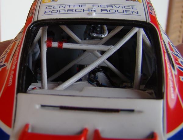 Porsche 911 GT3 RSR-997 Le Mans 2007 - MATMUT DSC02291