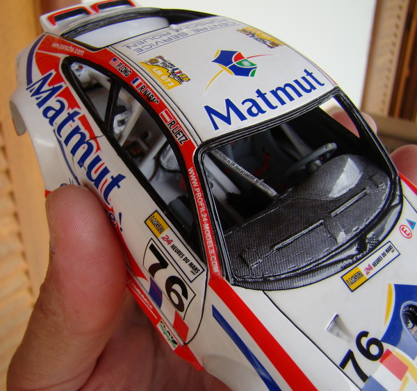 Porsche 911 GT3 RSR-997 Le Mans 2007 - MATMUT DSC02294
