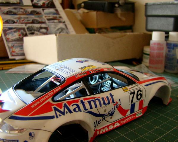 Porsche 911 GT3 RSR-997 Le Mans 2007 - MATMUT DSC02303