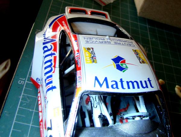 Porsche 911 GT3 RSR-997 Le Mans 2007 - MATMUT DSC02305