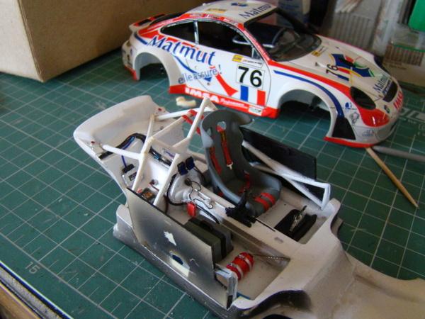 Porsche 911 GT3 RSR-997 Le Mans 2007 - MATMUT DSC02307