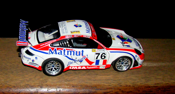 Porsche 911 GT3 RSR-997 Le Mans 2007 - MATMUT DSC02314