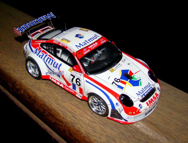 Porsche 911 GT3 RSR-997 Le Mans 2007 - MATMUT DSC02315
