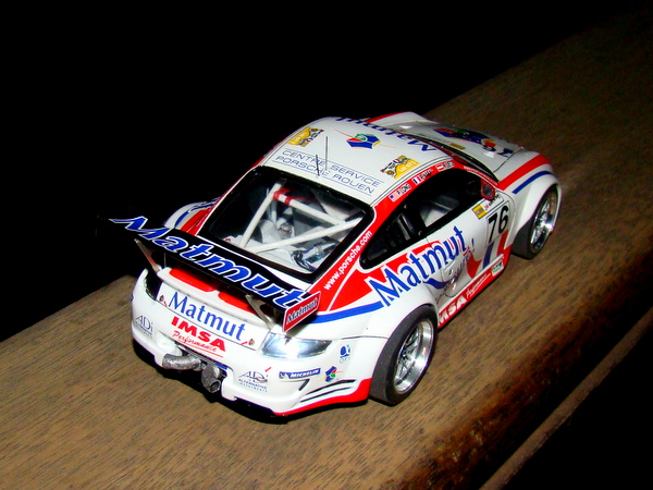 Porsche 911 GT3 RSR-997 Le Mans 2007 - MATMUT DSC02316
