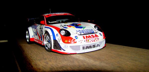 Porsche 911 GT3 RSR-997 Le Mans 2007 - MATMUT DSC02318