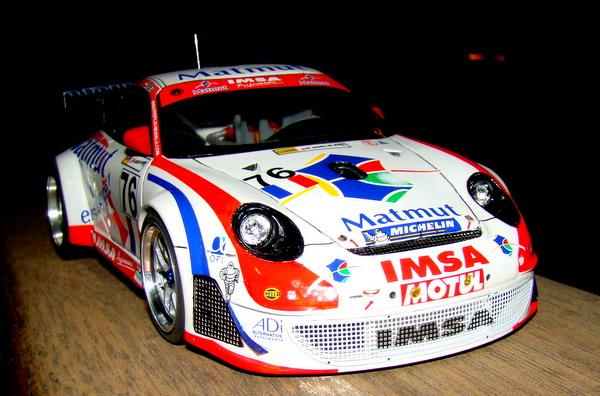 Porsche 911 GT3 RSR-997 Le Mans 2007 - MATMUT DSC02319
