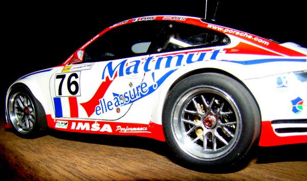 Porsche 911 GT3 RSR-997 Le Mans 2007 - MATMUT DSC02320