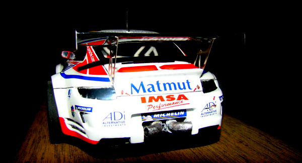 Porsche 911 GT3 RSR-997 Le Mans 2007 - MATMUT DSC02321