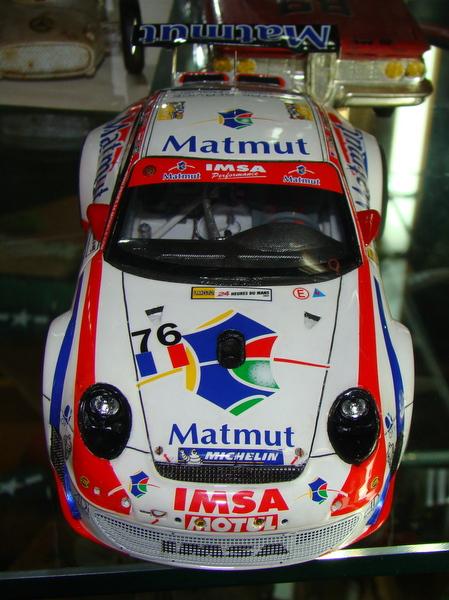 Porsche 911 GT3 RSR-997 Le Mans 2007 - MATMUT DSC02322