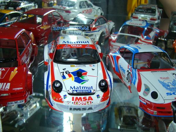 Porsche 911 GT3 RSR-997 Le Mans 2007 - MATMUT DSC02323