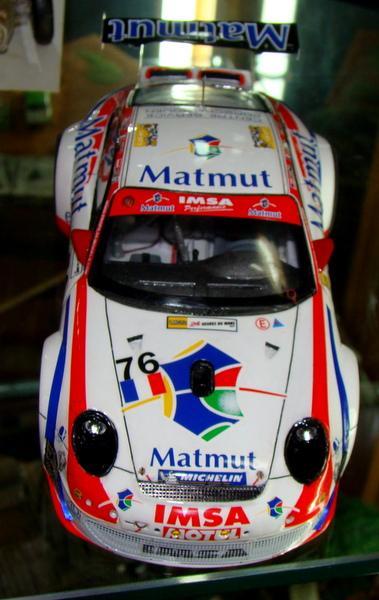 Porsche 911 GT3 RSR-997 Le Mans 2007 - MATMUT DSC02324
