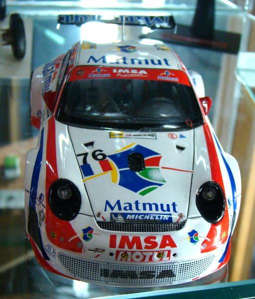 Porsche 911 GT3 RSR-997 Le Mans 2007 - MATMUT DSC02325