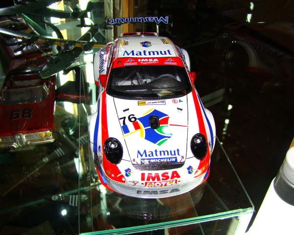 Porsche 911 GT3 RSR-997 Le Mans 2007 - MATMUT DSC02326