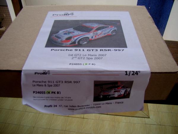 Porsche 911 GT3 RSR-997 Le Mans 2007 - MATMUT DSC02327