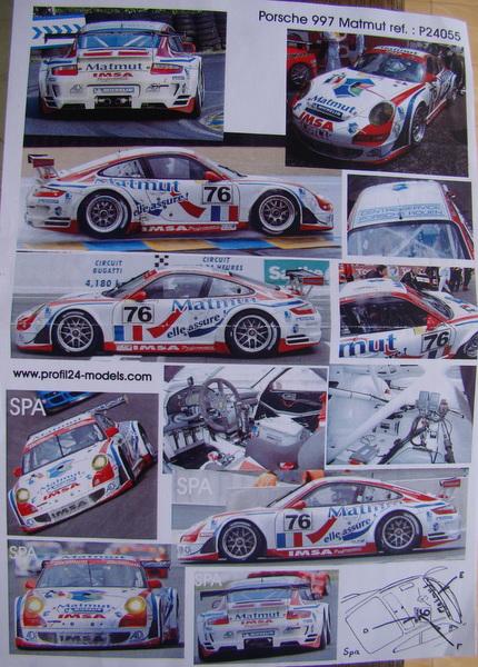 Porsche 911 GT3 RSR-997 Le Mans 2007 - MATMUT DSC02333