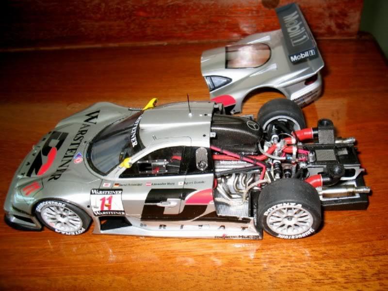 Mercedes Benz CLK GTR FIM017
