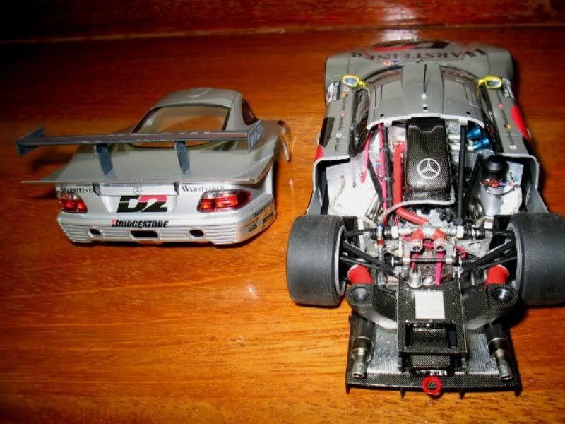 Mercedes Benz CLK GTR FIM018