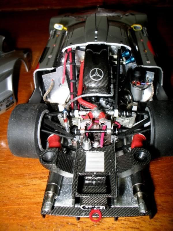 Mercedes Benz CLK GTR FIM019