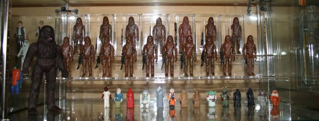 Chewbacca Focus and Loose Collection B1