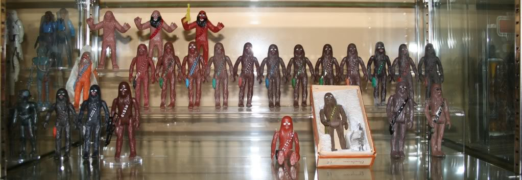 Chewbacca Focus and Loose Collection B2