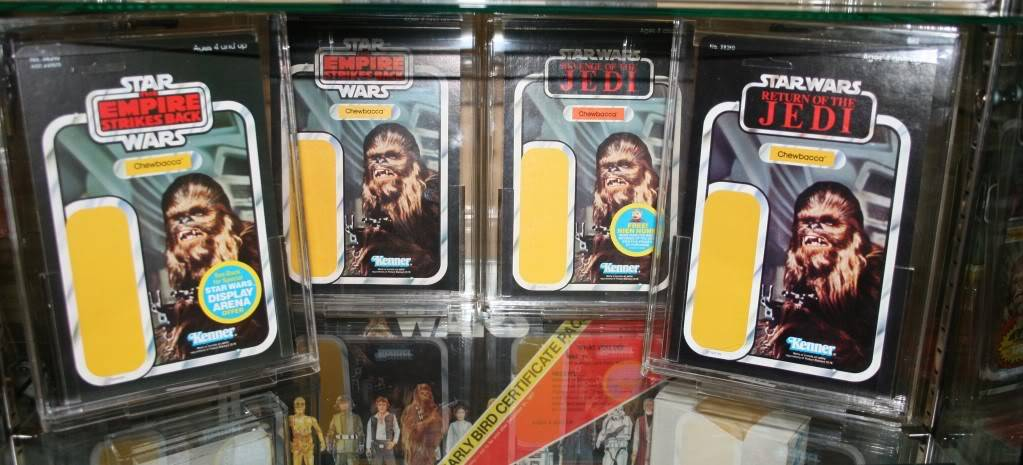 Chewbacca Focus and Loose Collection B4