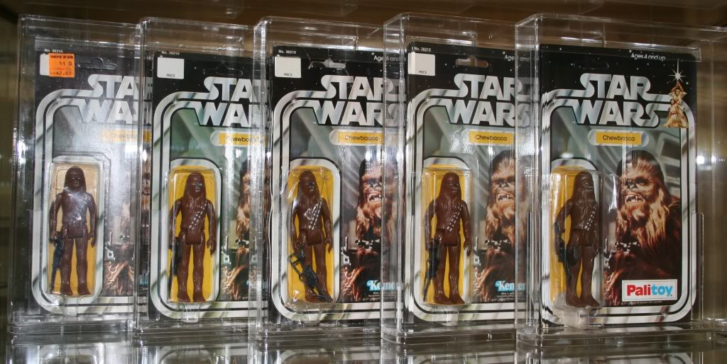 Chewbacca Focus and Loose Collection C1