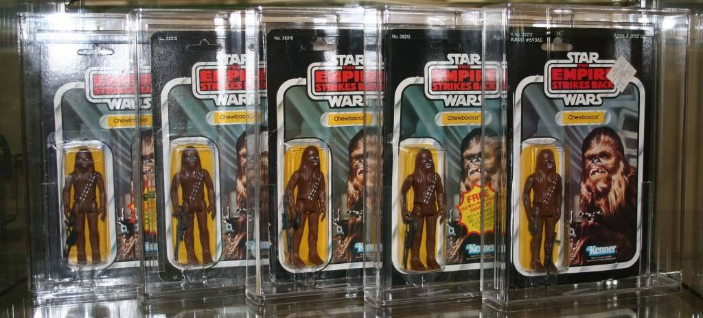 Chewbacca Focus and Loose Collection C2