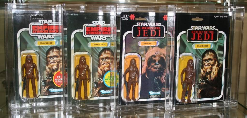 Chewbacca Focus and Loose Collection C3