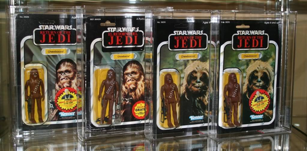 Chewbacca Focus and Loose Collection C4
