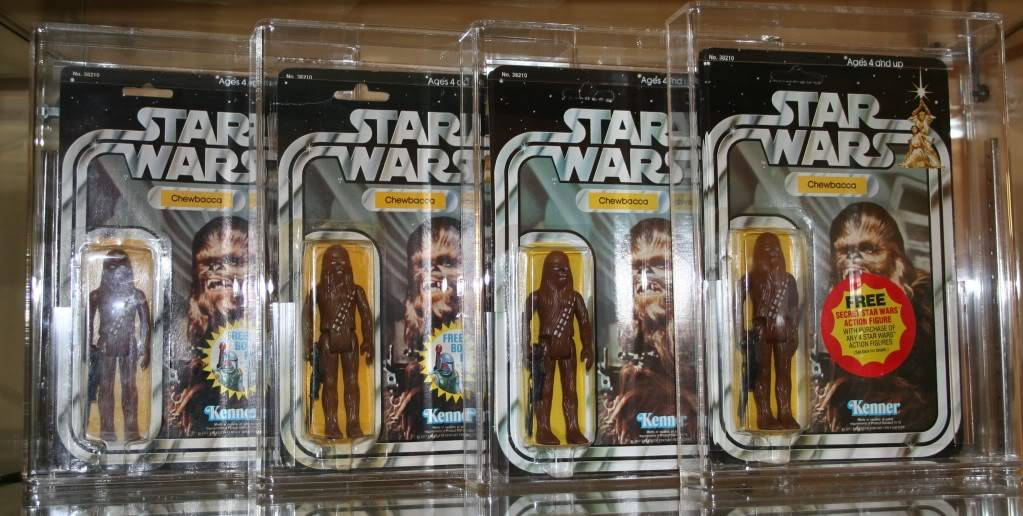 Chewbacca Focus and Loose Collection D1