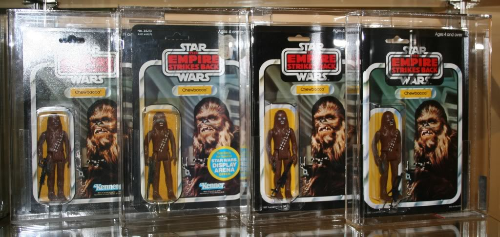 Chewbacca Focus and Loose Collection D2