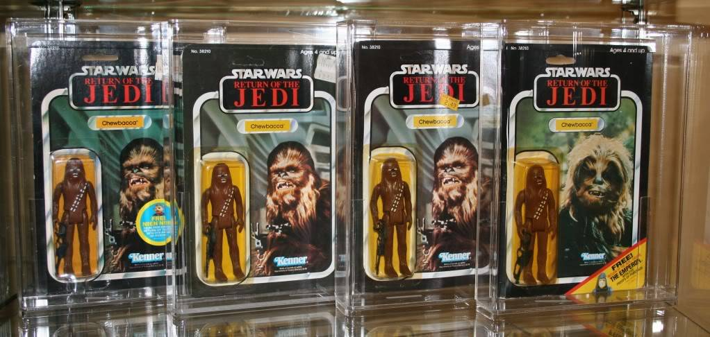 Chewbacca Focus and Loose Collection D3