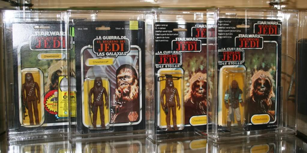 Chewbacca Focus and Loose Collection D4