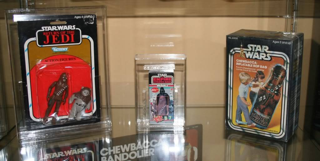 Chewbacca Focus and Loose Collection D5