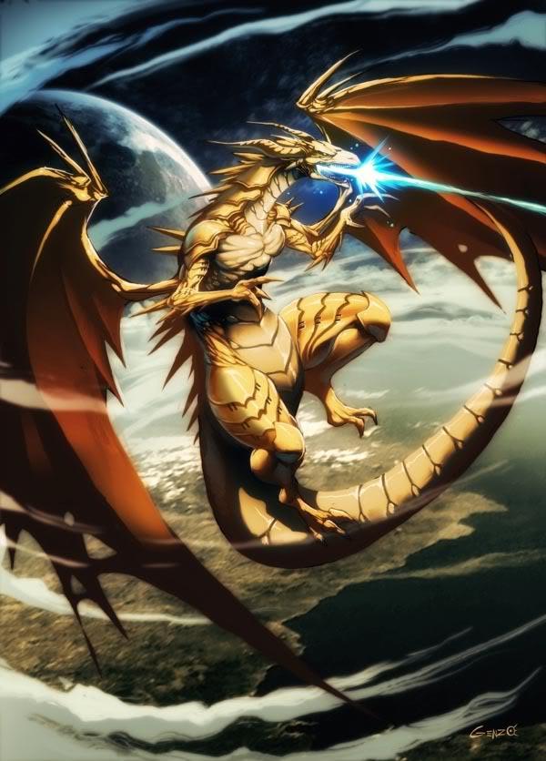 Ilustraciones que se necesitan DragonDoradobyGenzo