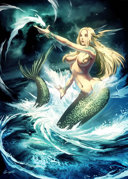 Ilustraciones que se necesitan SirenabyGenzo