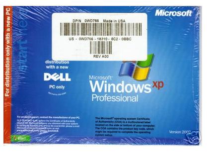 ثلاث ويندوزات أصلية لشركة Dell Dell