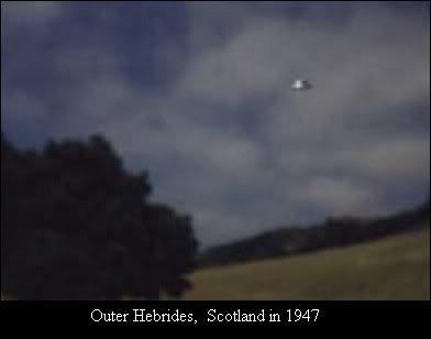 OVNIS galeria. Scotland1947
