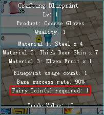 *Guia*  Crafting Blueprinfairy