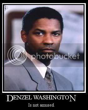 Motivational posters Denzel