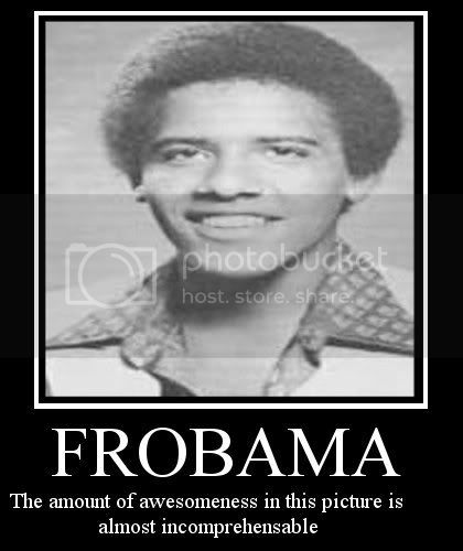 Motivational posters Frobama