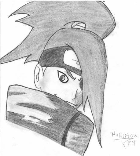 mis dibujos n_n nuevo 5/9/08 tobi/kakashi Deidarados
