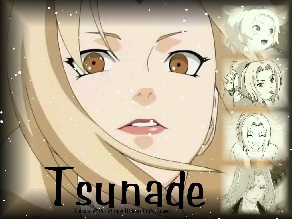Tsunade done.so lazy..all wiki  baby,, Tsunade