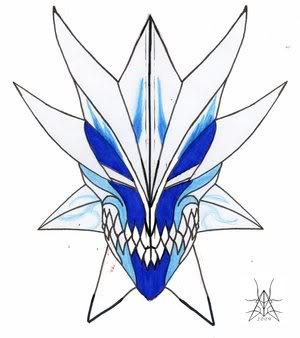 Kyo Kuzuma - Expediente Vizard Blue_Vizard_Mask