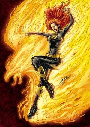 The Phoenix ~Evil Jean Grey~ Jeaninfantasticfour