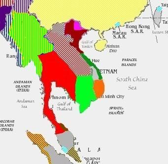 Siam Total War: Mod Maps Modmap1600-1