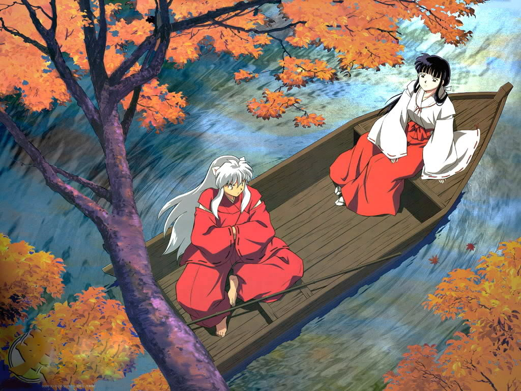 Cảnh đẹp nhất, lãng mạn nhất giữa Inuyasha và Kikyou Inuyasha632