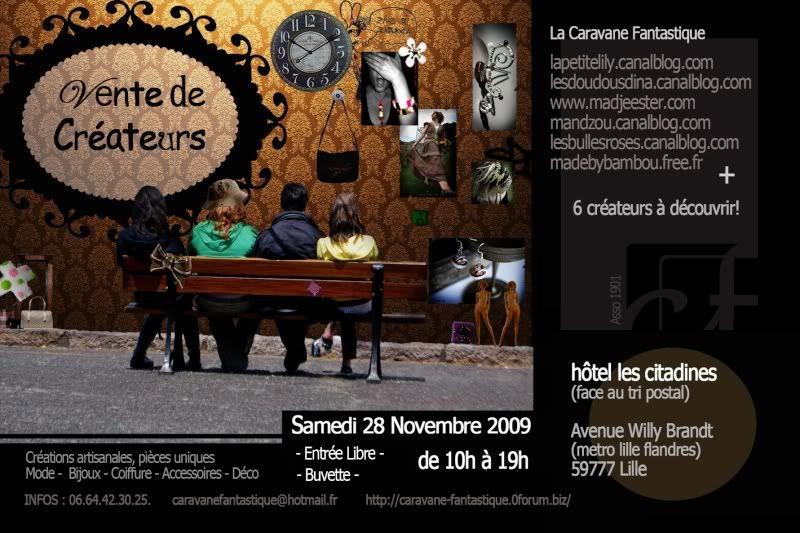 Expo de créateurs à Lille samedi 28 novembre Fly_28101