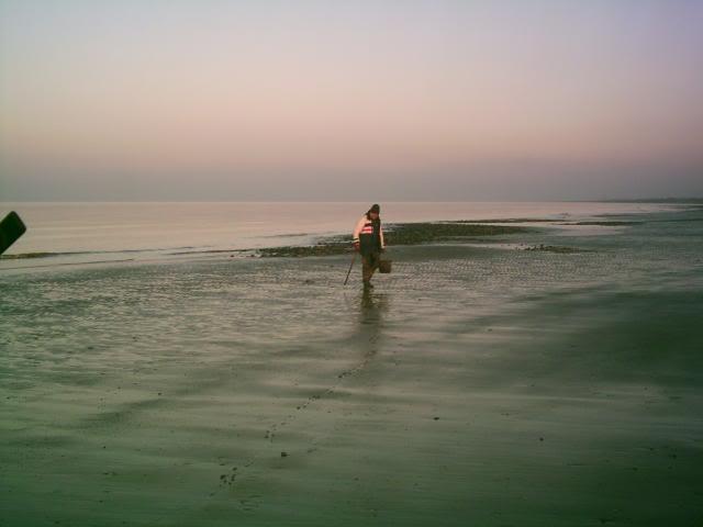 Rhyl  09.01.2009  'Bad Moon Rising Beach9109002
